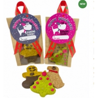 Yappy Christmas biscuits The Barking Bakery