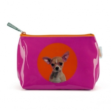 Spot Chihuahua Make-up Bag