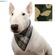 Aqua Coolkeeper Cooling Pet Bandana Camouflage