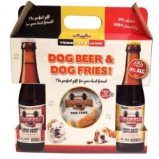 Snuffle Giftbox Dog Bier En Friet