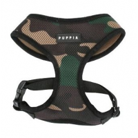 PUPPIA Soft Harness A Camouflage