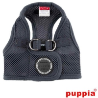 Puppia Soft vest Harness B Grey