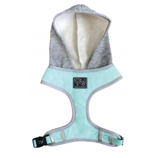 Big and Little Dogs HOODY HARNESS Teal