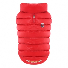 Puppy Angel Bulldog jas, Down Padding Vest, rood