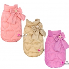 Pretty Pet Heart Embossed Coat