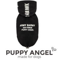 Puppy Angel Regenjas Shark Black