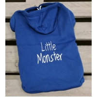 Hondentrui Monster blauw