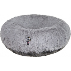 Bessie and Barnie Bagel Bed, Siberian Grey-ARTIC SEAL
