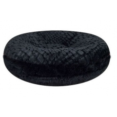 Bessie and Barnie Bagel Bed, Black Bear-Serenity Black