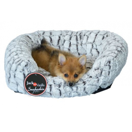 Jack and Vanilla Puppy bed Snakeskin