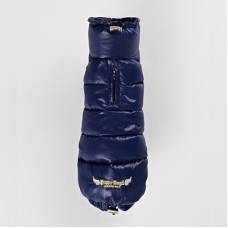 Puppy Angel Dog Down Padding Vest (Long, Snap) teckel, navy