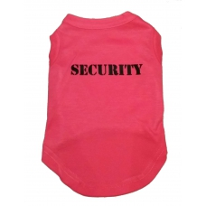 Honden T-shirt Security, Girl
