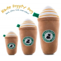 Haute Diggity Dog, Starbarks Frenchie Roast Plush Toy