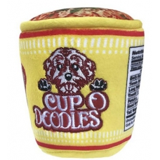 Cup O Doodles  Plush Dog Toy