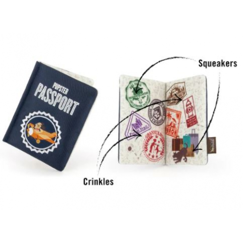 P.L.A.Y. Hondenspeelgoed Globetrotter collection Passport