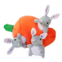 ZippyPaws Zippy Burrow Bunny 'n Carrot