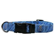 Yellow Dog Design halsband bandana blue