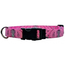 Yellow Dog Design halsband bandana pink